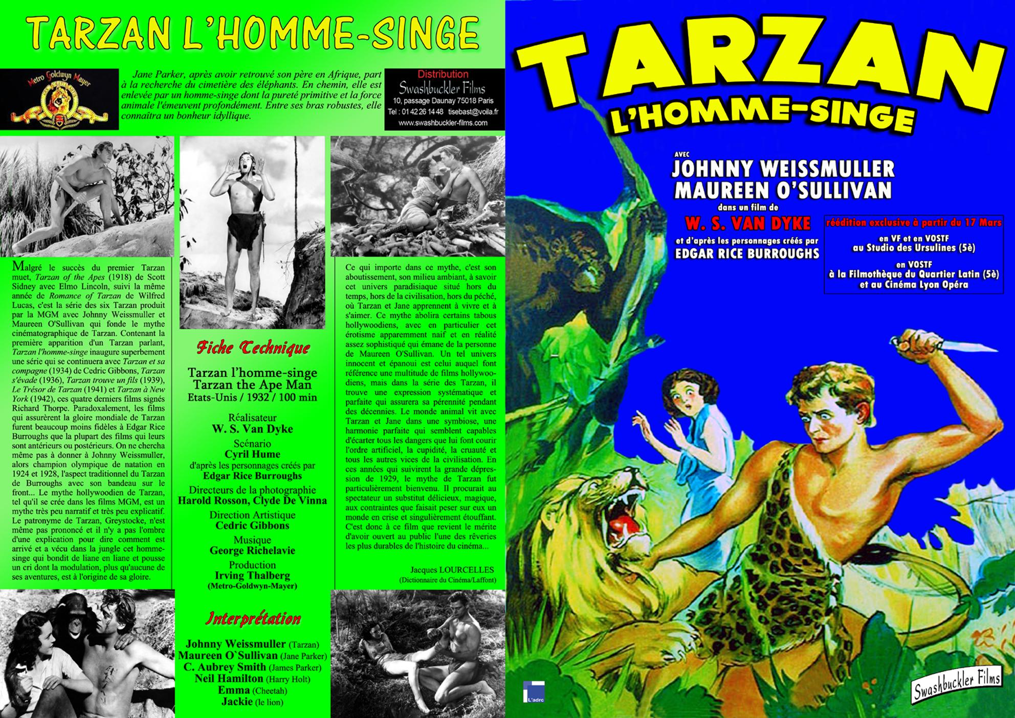 tarzan lhomme singe 1932